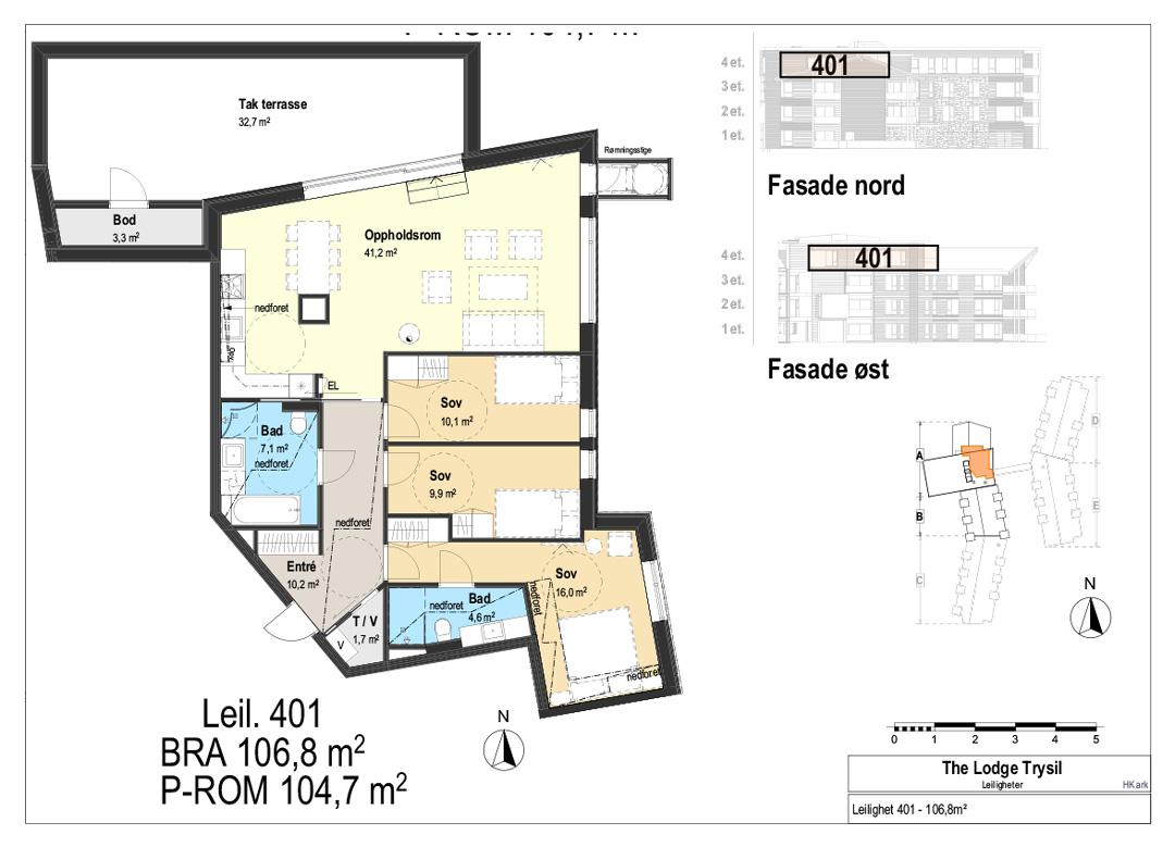 The Lodge Trysil - Leilighet 401