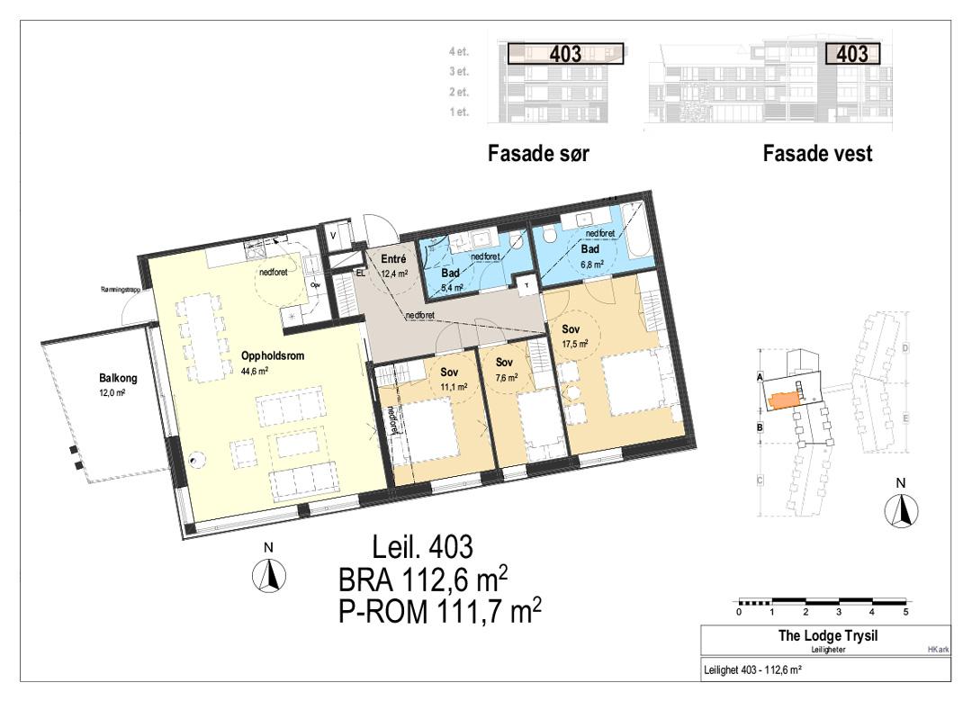 The Lodge Trysil - Leilighet 403